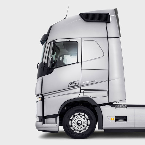 Design arrojado do Volvo FH